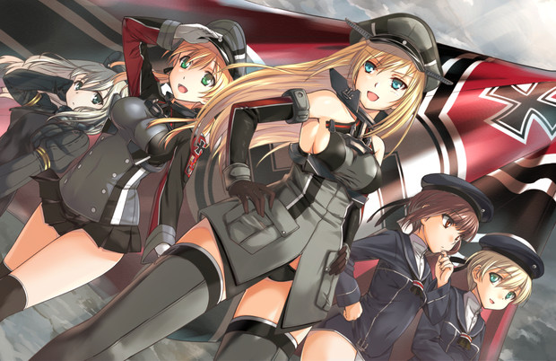 ドイツ艦ちゃんズ