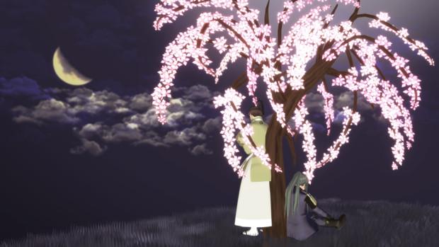 しだれ桜&スカイドーム