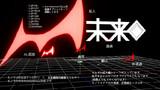 【MMDアクセサリ配布】モノクマの左目と未来機関所属章