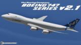 【MMD】Boeing747 Series V2.1