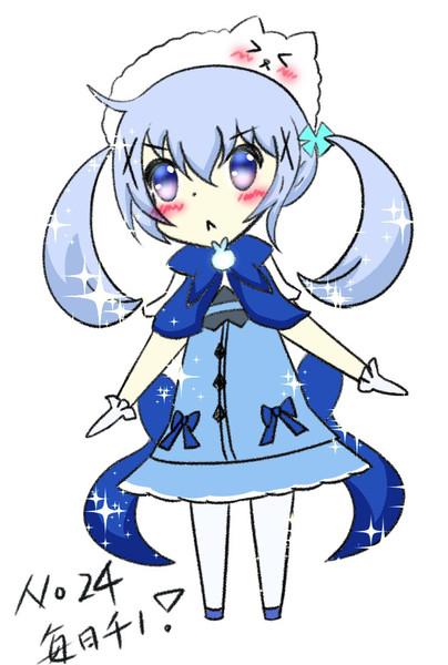 No.24キラキラ魔法少女チノ