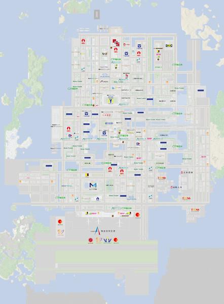舞倉市施設地図2015