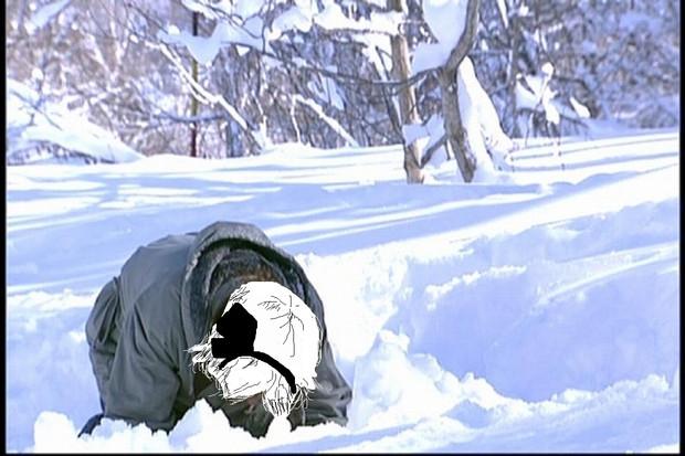 寒いし眠いしここがどこかも分からないESKちゃん♡