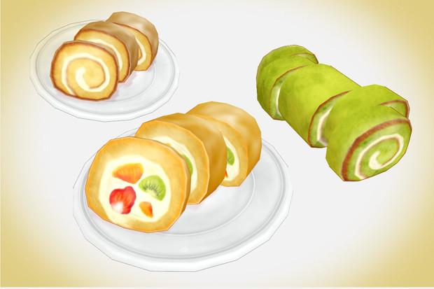 ロールケーキセットver1.0