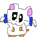 【GIFアニメ】とっとこハム太郎 リボンちゃん