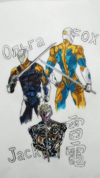 歴代サイボーグ忍者