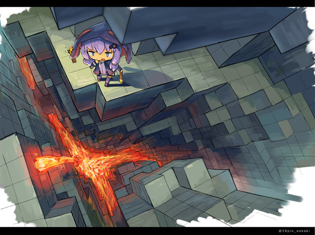 足もと注意!【Minecraft】