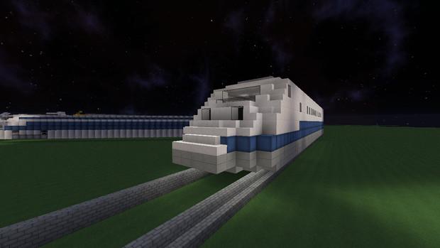【Minecraft】新幹線955形式955-6【300X】