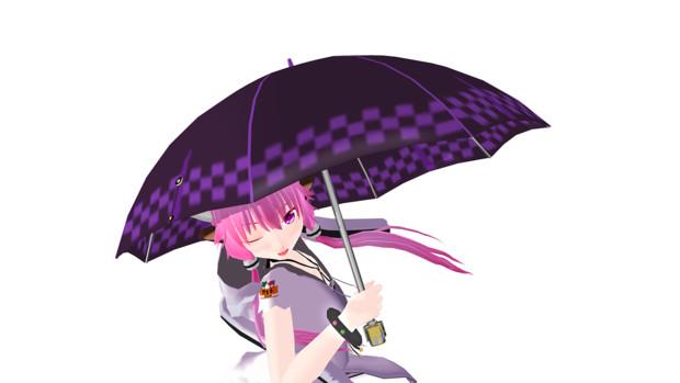 ゆかりさんの傘_凛(形だけ)