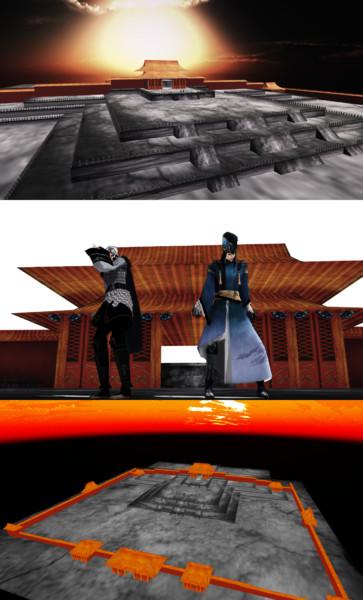 紫禁城みたいなステージ【MMD】