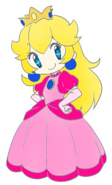 普通のピーチ姫