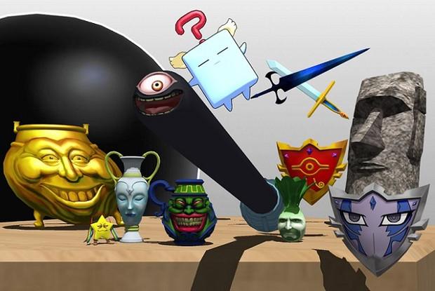 【MMD-OMF5】強欲な壺と愉快な仲間たち