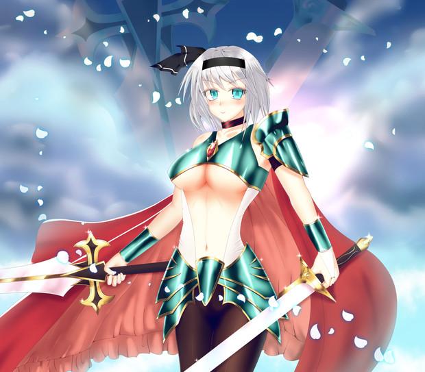 女騎士妖夢
