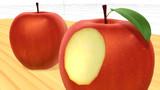 【MMD-OMF5】葉付き林檎v1【モデル・アクセサリ配布】