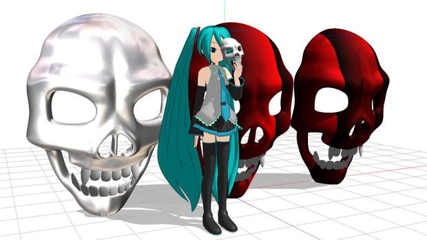 【MMDモデル配布】牙髑髏【ちょっとかっこよくね?】
