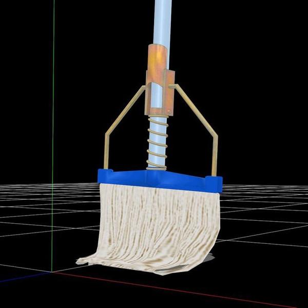 【MMD-OMF5】糸ラグモップ