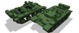 【MMD-OMF5】ИТ-1ミサイル駆逐戦車【モデル配布】
