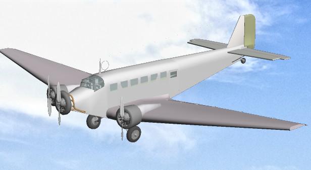JU52(製作途中)