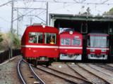 ハマの赤い電車