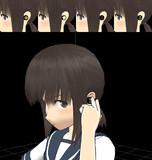 【MMDモデル配布】艦娘用ヘッドセット【ver1.1】