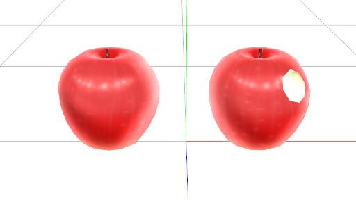 【アクセ配布】りんご