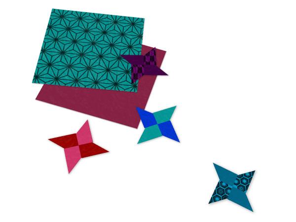 折り紙の手裏剣 Azyazya さんのイラスト ニコニコ静画 イラスト