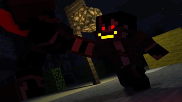 Minecraft×東京喰種【甲赫】