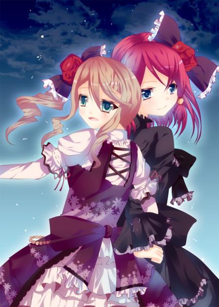 ロリィタ的なロゼちゃんとアリーシャちゃん