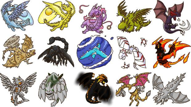 Dragons and Titans SDドラゴンズ その2