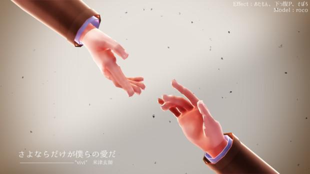 【進撃のMMD】さよならだけが...【指ポーズ配布】