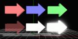 【MMDアクセサリ】 動く矢印1.0
