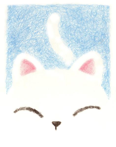 ブルーなネコちゃん