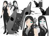 【MMD艦これ 】戦艦ル級ver0.72【モデル更新】