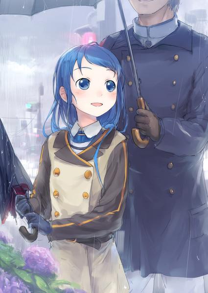 レインコート五月雨ちゃん