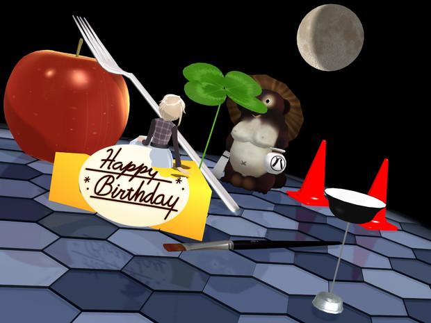 Happy birthday, dear Urotsuki.