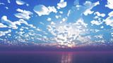 【MMDステージ配布】朝の雲 BB4【スカイドーム】