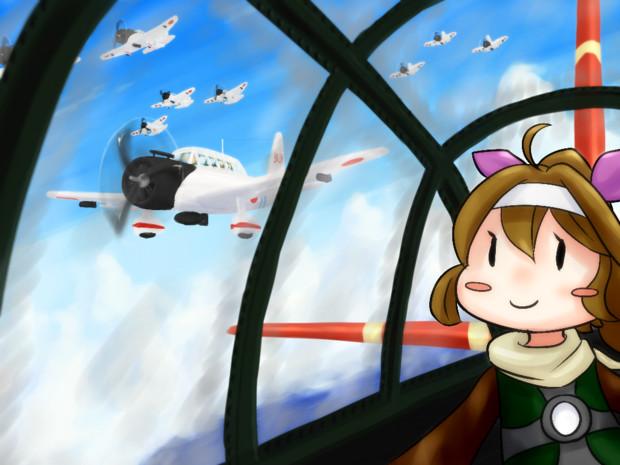 爆撃隊の妖精さん