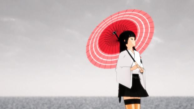 梅雨の季節【MMD艦これ】