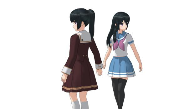 【MMD】北宇治高校 夏制服とコンクール仕様β2【モデル配布】