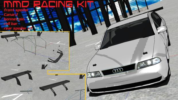 【配布】MMD Racing car kit