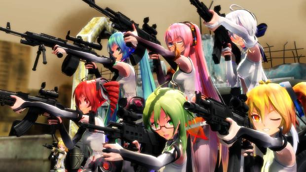 武装Tda式集結