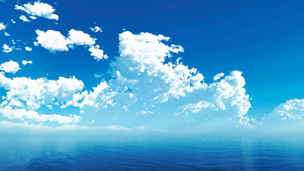 【MMDステージ配布】夏の雲 BB6【スカイドーム】
