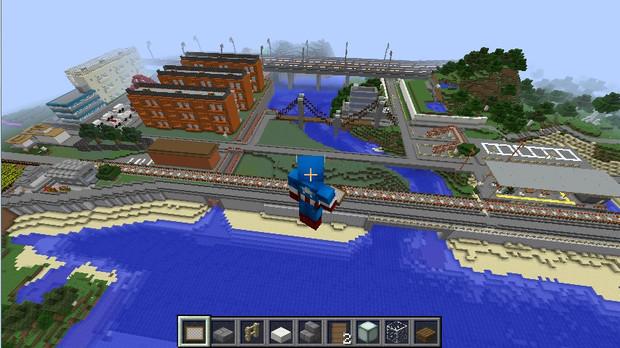 【Minecraft】豊倉市作ってみた