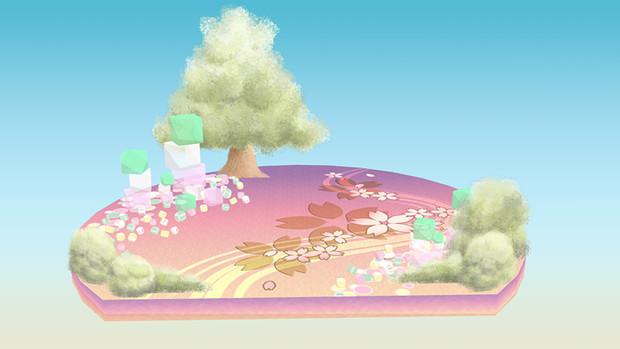 【MMD】パステル和菓子ステージ【ステージ配布】