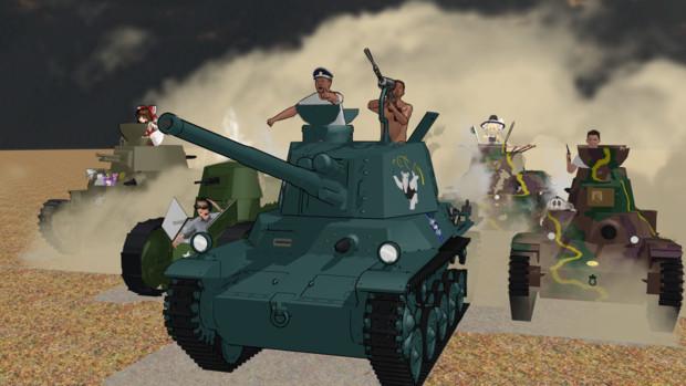 軍神ミューラー戦車長