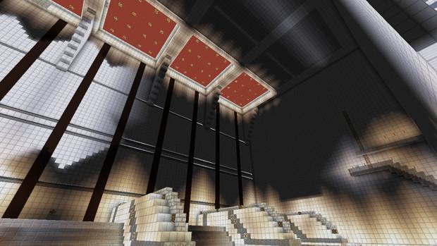 【Minecraft建築部】エヴァンゲリオン射出ゲージ