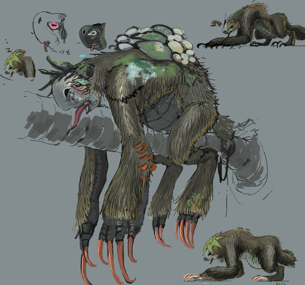 ナマケモノ型牙獣