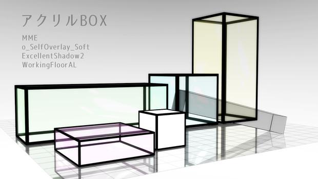 アクリルBOX