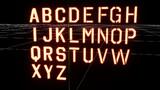 【自作モデル】ステンシルアルファベットセット(AL対応版)