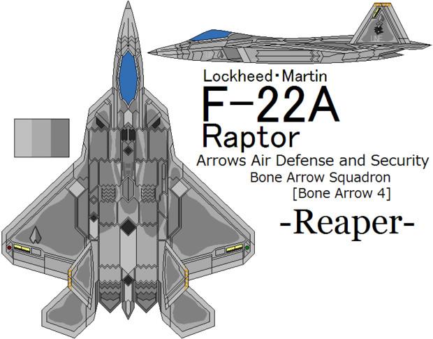 [20周年記念]F-22A Raptor AAD&S Bone Arrow 4 =Reaper=